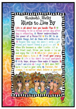 Words to Live By 8x10 Gifty Art