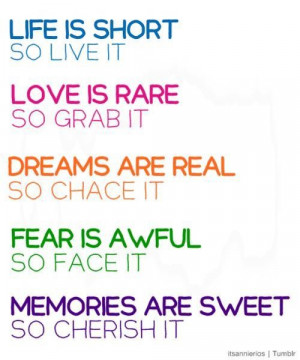 ... so face it. memories are sweet so cherish it ~ best quotes & sayings