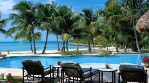 Dining on Musha Cay