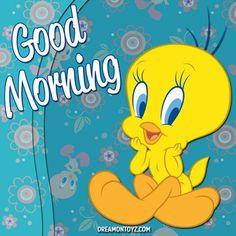 Good morning tweety More