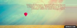 Second Chances Facebook Timeline Cover