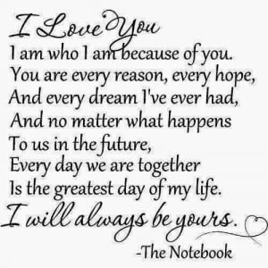so in love with you..