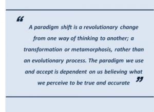 Paradigm Shift Examples