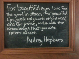 Coffee shop quote of the day