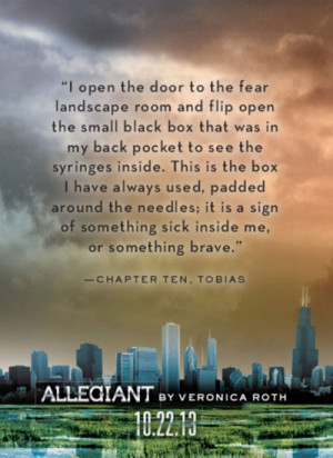 The Divergent Trilogy: Allegiant Quotes