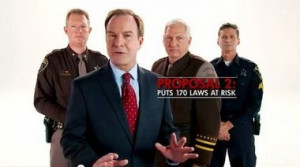 Schuette and three law enforcement officers are urging parents to vote ...