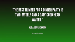 Dinner Party Quotes