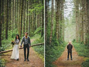 Romantic Elopement in the Woods: Laura + Nick