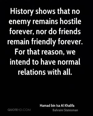 Hamad bin Isa Al Khalifa History Quotes