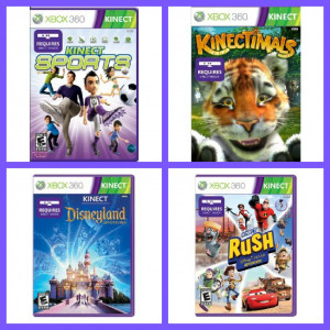 Xbox 360 Kinect Games For Girls