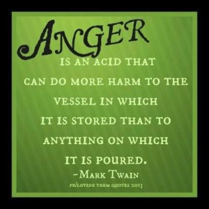 Here's to finding ways to release anger that unburden us safely...