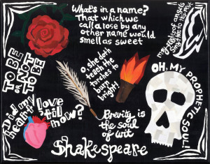 Shakespeare quotes in image form