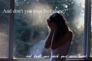 alone, cry, girl, image, quote, sad