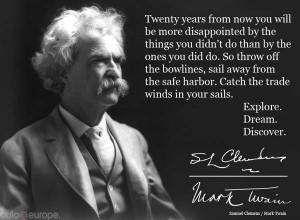 Travel Inspiration from Mark Twain