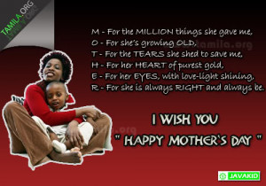 Happy Mother`s Day & Meaning of The Word, Mother