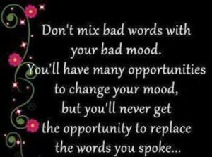 Bad mood quotes inspiration