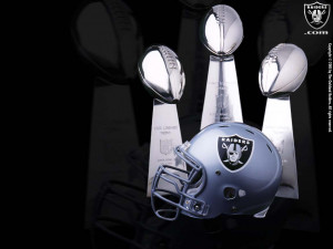 Impresionante fondo de Oakland Raiders wallpaper