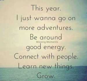 ... . Be Around Good Energy. Connect With People. Learn New Things. Grow