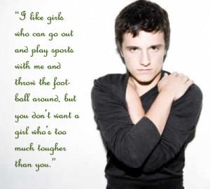 Josh Hutcherson: Romantic Love Quotes