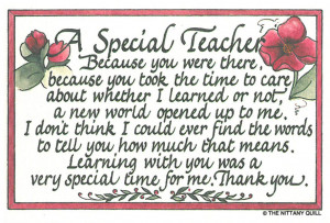 Showing Gallery For Special Teacher Quotes