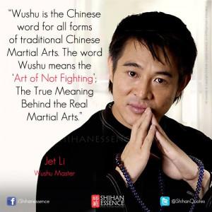 Jet Li on Wushu