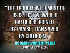 criticism quote 1