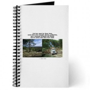 John Muir Quote on Trees Journal