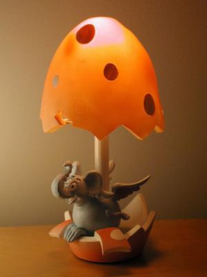 Toy OTD: Vandor Horton Hears a Who Elephant Bird Lamp (2002)