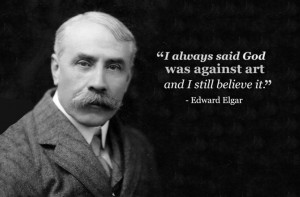 edward elgar god was against art