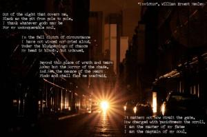 Best Nelson Mandela Famous Quotes - The Invictus poem.