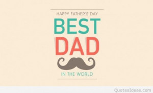 Best dad in the world quote