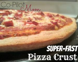 Super-Fast Pizza Crust