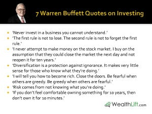 Warren Buffett Quotes on Investing by WealthLift