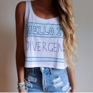 shirt divergent blond curls blonde hair quote on it edit tags