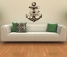 The anchor holds Vinyl wall quotes sayings words lettering decals ...