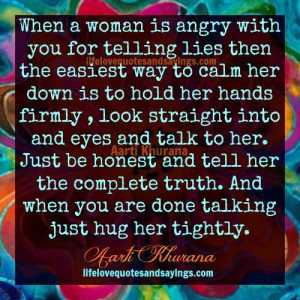 When She Is Angry..