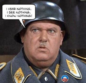 I Know Nothing Sgt. Schultz
