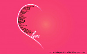 New way to express your Love wallpaper