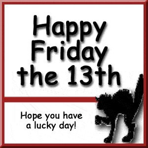 Happy Friday the 13th Card and Wish