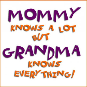 GRANDPARENTS and GRANDCHILDREN SAYINGS AND QUOTES