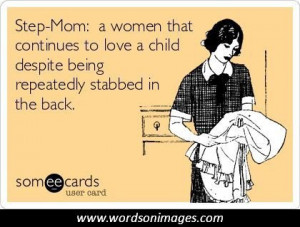 Funny Stepmom Quotes