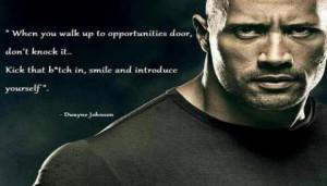 The Rock Dwayne Johnson...