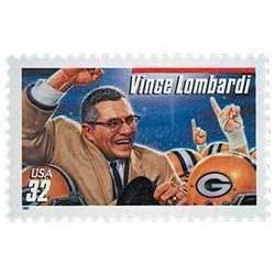 1997 32C Vince Lombardi Green Bay Packers Scott 3147 Mi