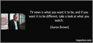Television News Quotes