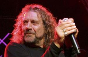 Singer Robert Plant performs during the 'Hommage a Ahmet Ertegun' show ...