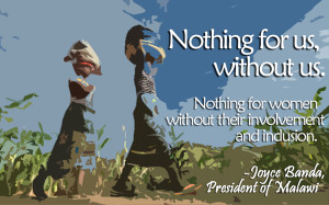 The case for women's leadership: Joyce Banda