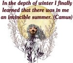of Winter celebrates the Winter Solstice under a full moon and a quote ...