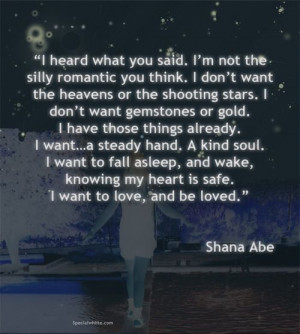 Thats not too much to ask for?
