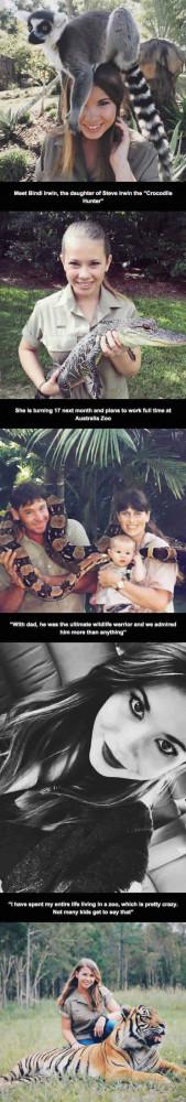 The Crocodile Hunter's Daughter