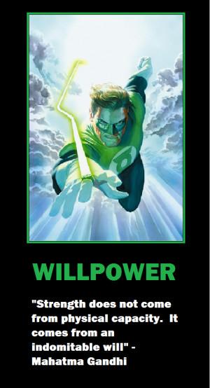 Green Lantern Willpower by charjfs